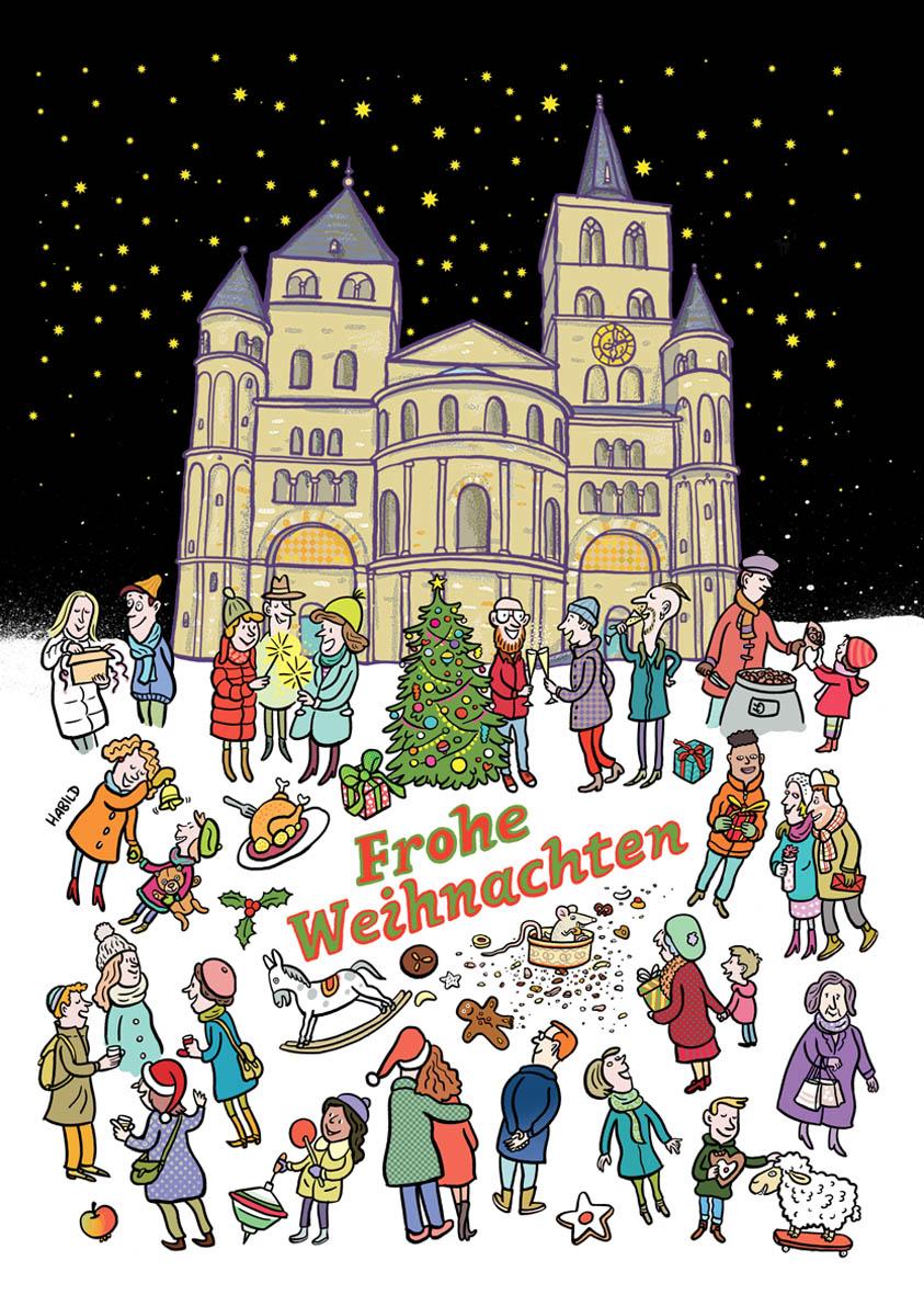 Dom, Trier, Weihnachten