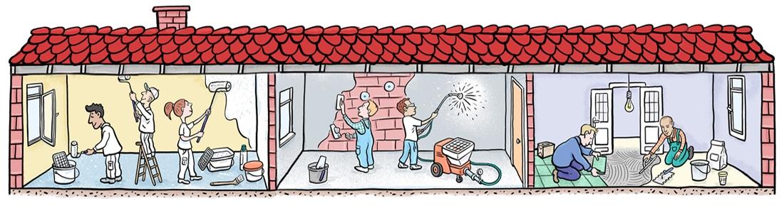 h-bild – cartoon | illustration