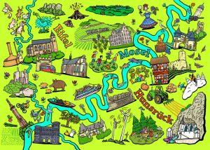 Mosel, Hunsrück, Eifel, Region, Trier, Rheinland-Pfalz, Tourismus