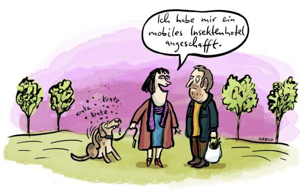Insekten Flöhe Hund Gassi Frauchen Jucken Kleintierhaltung Haustiere