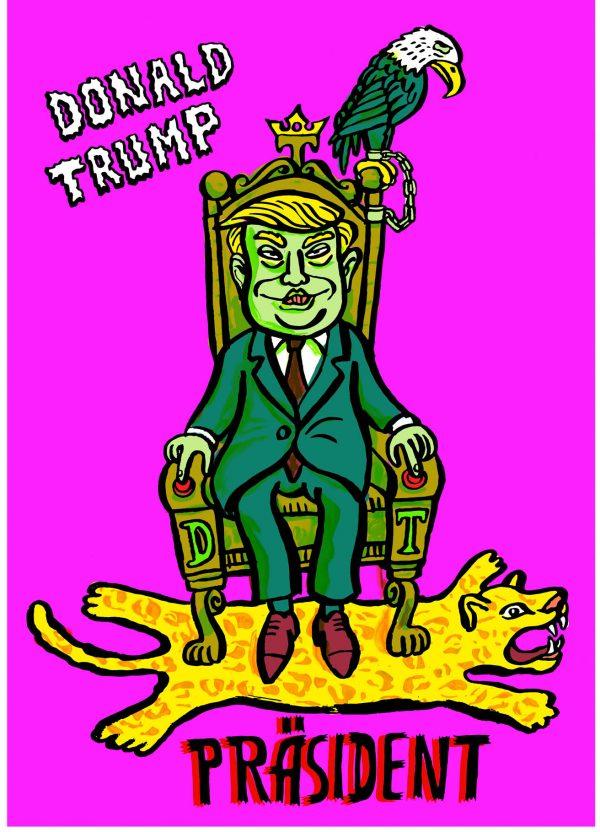 präsident kabinett des grauens