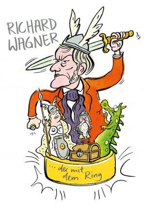 Ring der Nibelungen Wagner Opern Rheingold Walküre Siegfried Götterdämmerung Alberich