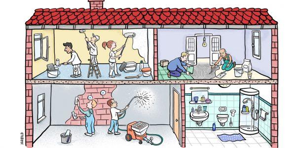 SE Tylose, Hausbau, Baustoff, Handwerker, Bauarbeiter, Baustelle, Fliesenleger, Maler, Verputzen, Spritzputz, Spachteln, Renovieren