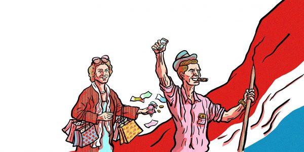 Reichtum, Verschwendung, Luxus, Sozialismus