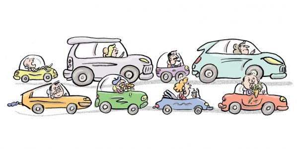 Autos, Stau, Pendeln, Pendler, Luxemburg, Frust, Arbeit