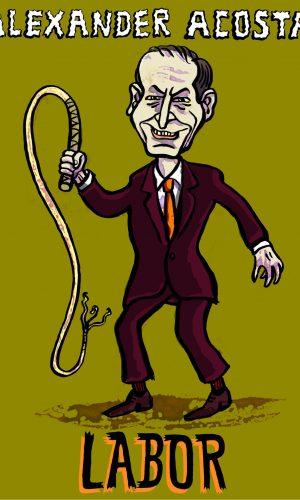 cabinet Donald Trump Kabinett Horror labor minister secretary
