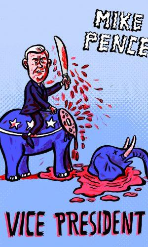 cabinet Donald Trump Kabinett Horror vizepräsident vize president republicans republikaner minister secretary